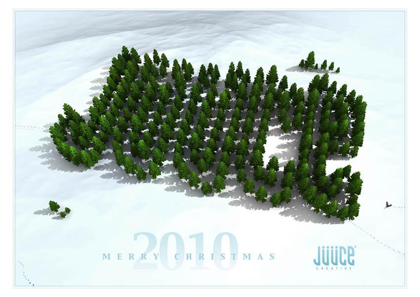 christmas_card_design_3d_illustration