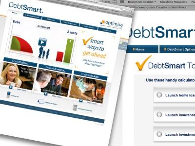 debtsmart_website_design_creative_concepts
