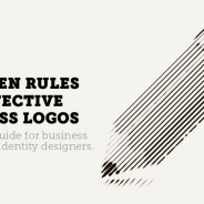 The 7 golden rules for effective logo design