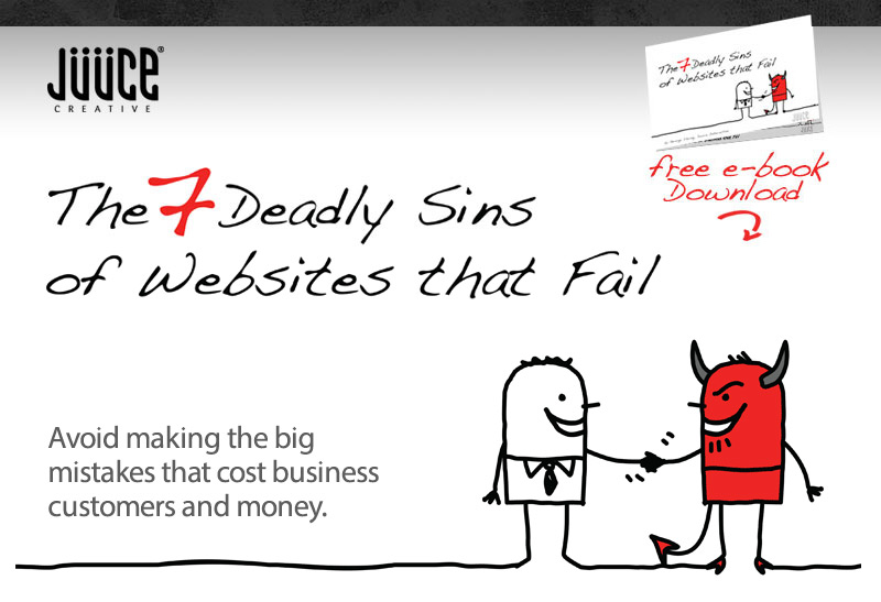 7 deadly sins of websites that fail