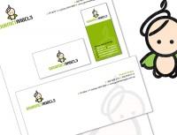 logo brand design identity design gourmet angels