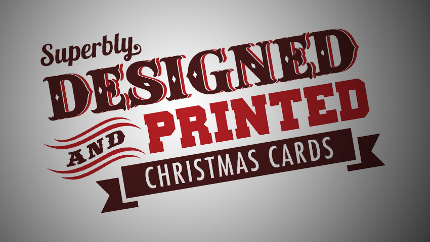 Custom Design Christmas Cards