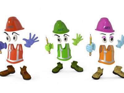 3D Character Brand design ARTC