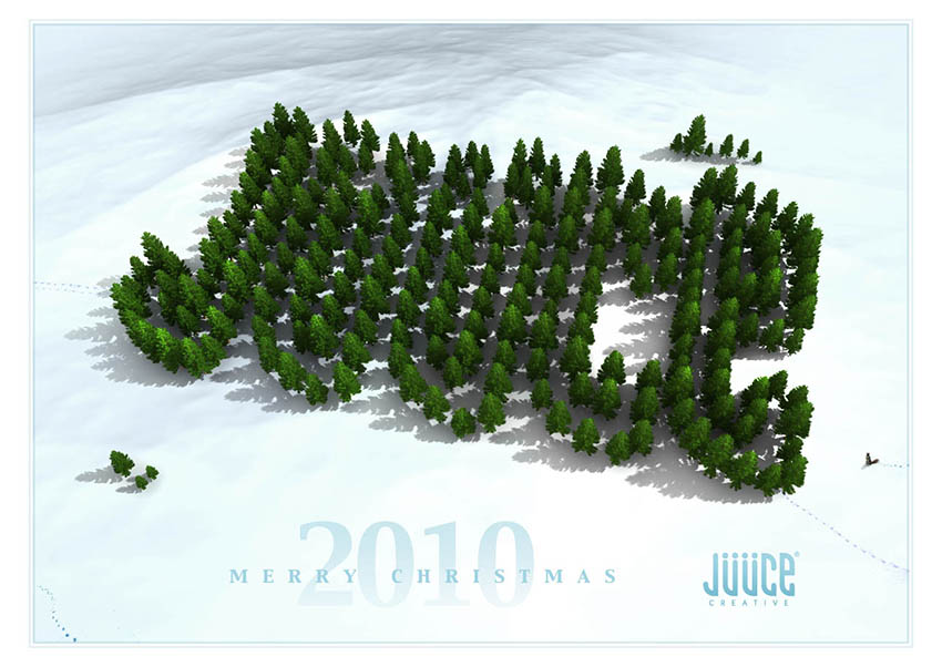christmas_card_design_3d_illustration