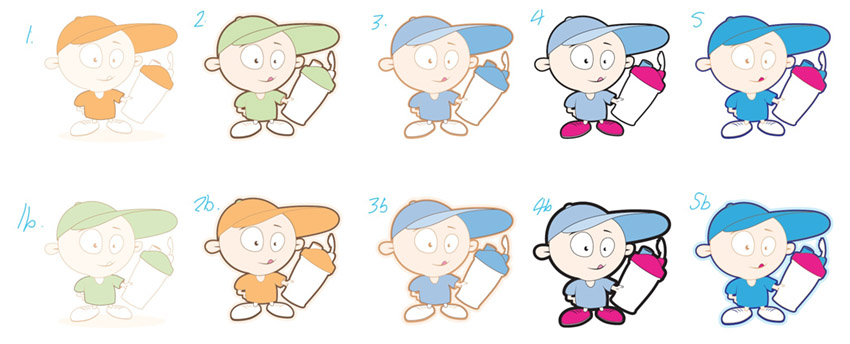 character_design_sketches_colour_smaples